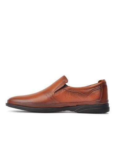Ayakmod 2030 Siyah Erkek Günlük Ayakkabı Taba